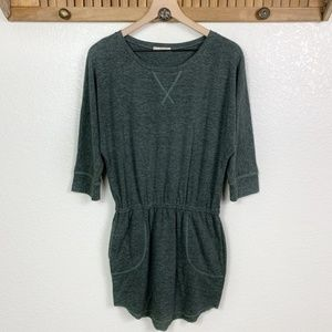Rachel Roy Green 3/4 Sleeve Sweatshirt Dress